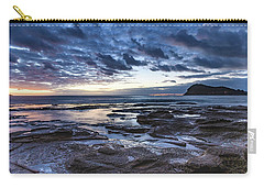 Seascape Cloudy Nightscape Carry-all Pouch