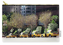 4 Taxis In The City Carry-all Pouch