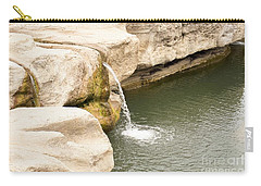 Carry-all Pouch featuring the photograph Texas - Mckinney Falls State Park  by Ray Shrewsberry
