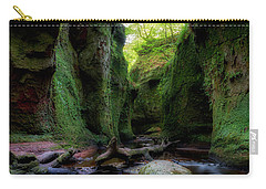 The Devil Pulpit At Finnich Glen Carry-all Pouch