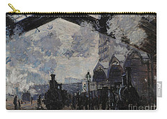 The Gare St Lazare Carry-all Pouch