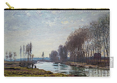 The Petit Bras Of The Seine At Argenteuil Carry-all Pouch