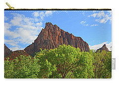 Carry-all Pouch featuring the photograph The Watchman by Raymond Salani III