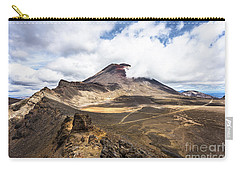 Tongariro Alpine Crossing In New Zealand Carry-all Pouch