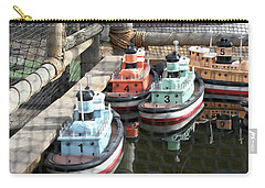 4 Toy Boats Carry-all Pouch