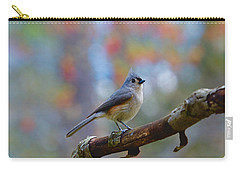 Tufted Titmouse Carry-all Pouch by Robert L Jackson