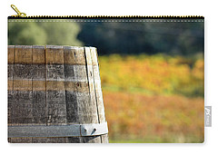 Wine Barrel In Autumn Carry-all Pouch