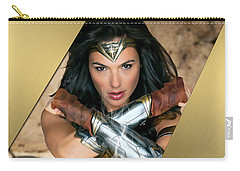 Wonder Woman Art Carry-all Pouch by Marvin Blaine