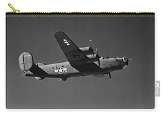 Wwii Us Aircraft In Flight Carry-all Pouch