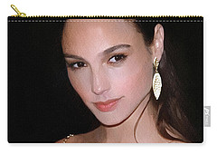 Gal Gadot Carry-all Pouch by Best Actors