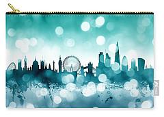London England Skyline Carry-all Pouch by Michael Tompsett