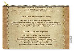41- The Four Agreements Carry-all Pouch