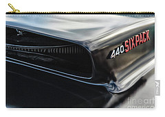 Carry-all Pouch featuring the photograph 440 Sixpack by Brad Allen Fine Art