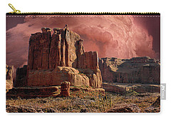 Carry-all Pouch featuring the photograph 4417 by Peter Holme III