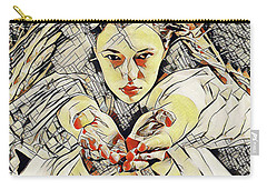 4448s-ab The Succubus Comes For You Erotica In The Style Of Kandinsky Carry-all Pouch