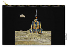 Carry-all Pouch featuring the photograph 4481 by Peter Holme III