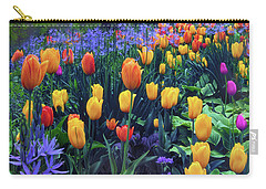 Procession Of Tulips Carry-all Pouch