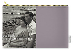 45 Years Quote Carry-all Pouch by JAMART Photography
