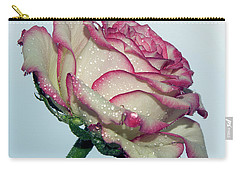 Beautiful Rose Carry-all Pouch by Elvira Ladocki