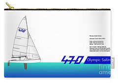 470 Olympic Sailing Carry-all Pouch