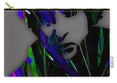Bob Dylan Collection Carry-all Pouch by Marvin Blaine