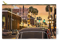 Carry-all Pouch featuring the photograph 48 Cadi by Steven Sparks
