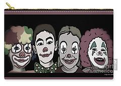 4happy Clowns 80 Carry-all Pouch by Megan Dirsa-DuBois