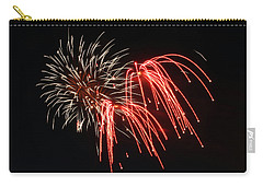 Astoria Park Fireworks Carry-all Pouch by Jim Poulos