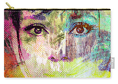 Audrey Hepburn Carry-all Pouch by Svelby Art