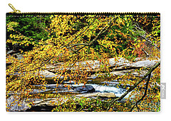 Autumn Middle Fork River Carry-all Pouch by Thomas R Fletcher
