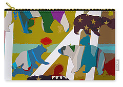5 Bears Heading To Graceland Carry-all Pouch