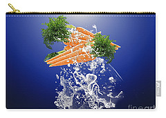 Carrot Splash Carry-all Pouch