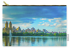 Carry-all Pouch featuring the photograph Central Park by Theodore Jones