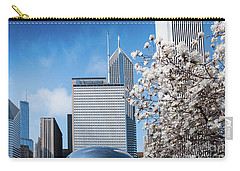 Chicago Bean Millenium Park Carry-all Pouch