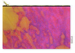 Color Transformation Of Rose Petal Carry-all Pouch
