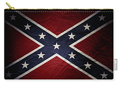 Confederate Flag Carry-all Pouch by Les Cunliffe