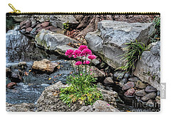 Carry-all Pouch featuring the photograph Dallas Arboretum by Diana Mary Sharpton