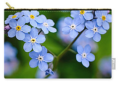 Forget Me Not Carry-all Pouch by Jouko Lehto