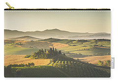 Golden Tuscany Carry-all Pouch by JR Photography