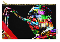 John Coltrane Collection Carry-all Pouch by Marvin Blaine