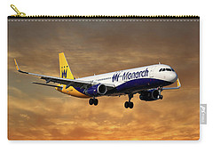 Monarch Airlines Airbus A321-231 Carry-all Pouch