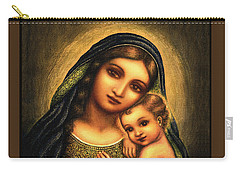 Oval Madonna Carry-all Pouch