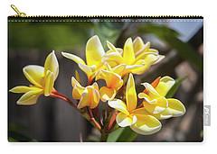 Plumeria Frangipani Hawaiian Flower  Carry-all Pouch