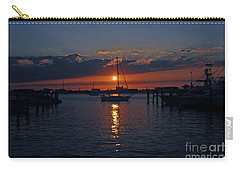 5- Sailfish Marina Sunset In Paradise Carry-all Pouch