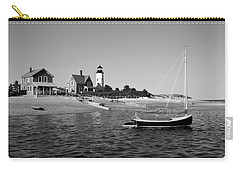 Carry-all Pouch featuring the photograph Sandy Neck Lighthouse by Charles Harden
