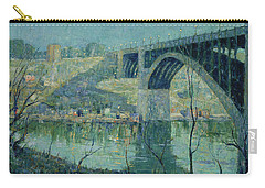 Spring Night, Harlem River Carry-all Pouch