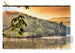 Stonewall Resort Sunrise Carry-all Pouch by Thomas R Fletcher