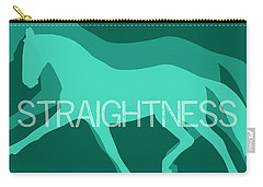 Straightness Negative Carry-all Pouch