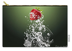 Strawberry Splash Carry-all Pouch