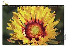 Carry-all Pouch featuring the photograph Summer Flower by Elvira Ladocki